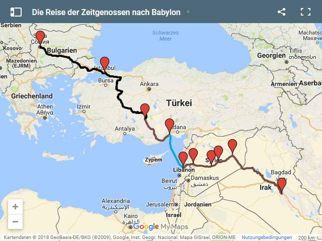 Babylon Karte.Zeitgenossen Hintergründe Schauplätze In Band Iv Die Reise Nach